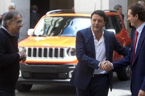 Auto-ibride-e-incentivi.-Marchionne-chiama-Renzi